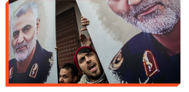 Iranians take to the streets after the assassination of General Qassem Soleimani