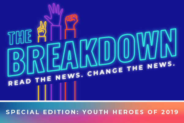 The Breakdown. Read the News. Change the News.