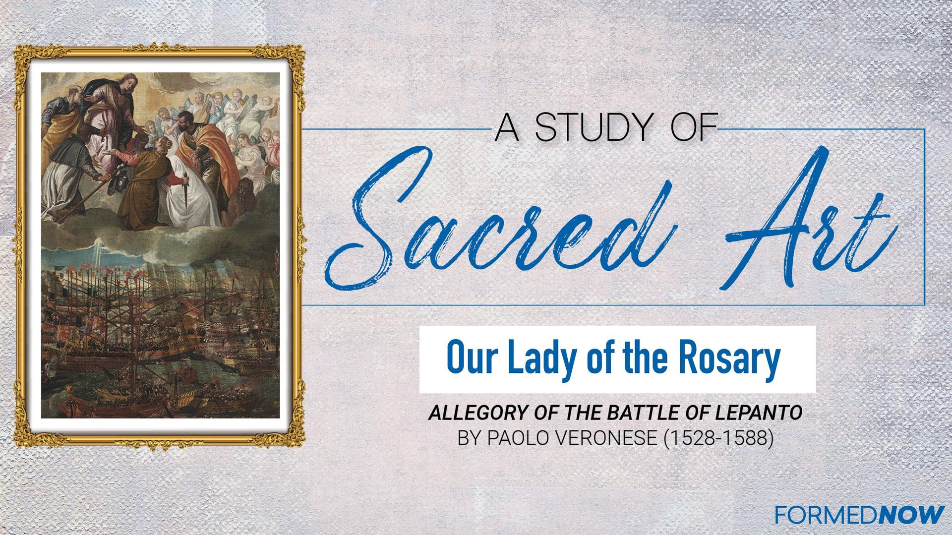 Sacred Art: Our Lady of the Rosary